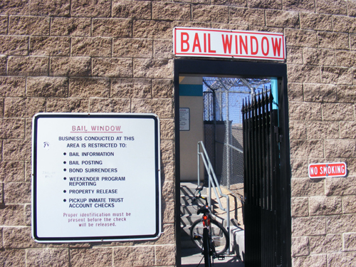 Jail Las Vegas - Bail Window