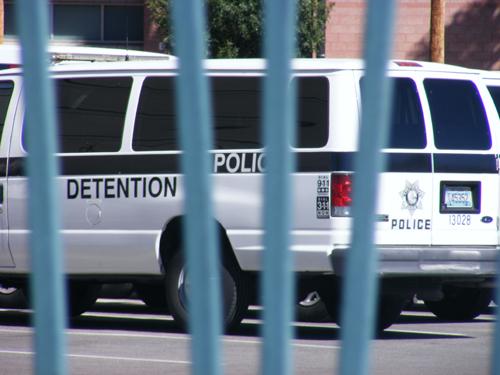 Jail Las Vegas - Detention Center Van