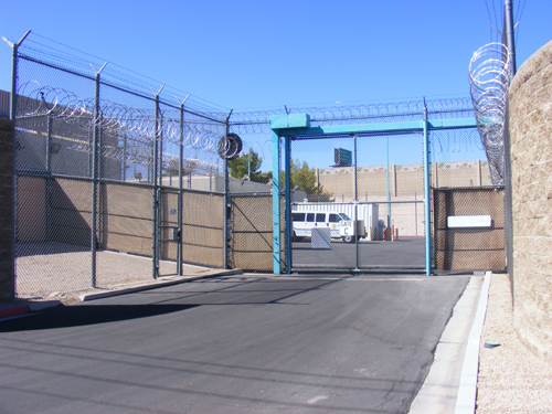 Jail Las Vegas - Entrance Gate C