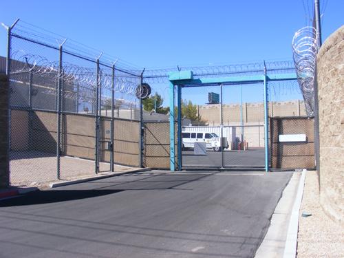 Jail Las Vegas - Entrance Gate C