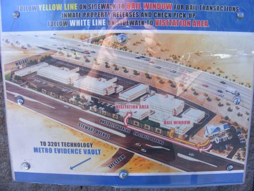 Jail Las Vegas - Map of Las Vegas Jail