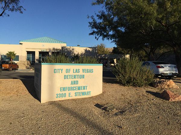 Jail Las Vegas Detention Center Sign