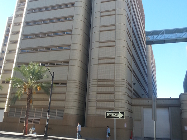 The CCDC is one of two jails located in North Las Vegas
